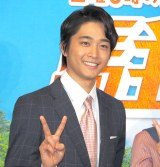 ドラマ『駐在刑事Season2』の記者会見に出席した佐藤寛太 (C)ORICON NewS inc.