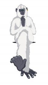 『映画ドラえもん のび太の新恐竜』で木村拓哉が演じる怪しい猿の姿をした謎の男・ジル(C)藤子プロ・小学館・テレビ朝日・シンエイ・ADK 2020