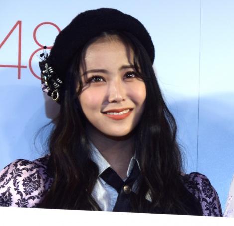 『AKB48グループのVRライブ配信開始に関する記者発表会』に出席した白間美瑠 (C)ORICON NewS inc.