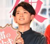 映画『仮面病棟』映画化記念スペシャルイベントに登壇した松丸亮吾 (C)ORICON NewS inc.