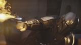 第3話場面写真。火炎放射も使った迫力ある戦闘シーン=「スター・ウォーズ」初の実写ドラマシリーズ『マンダロリアン』(ディズニーデラックスで独占配信中)(C) 2019 Lucasfilm Ltd. All Rights Reserved.
