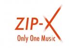 新レーベル「ZIP-X」ロゴ