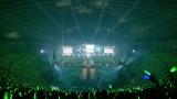 欅坂46カラーの緑に染まる東京ドーム