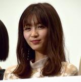 映画『mellow(メロウ)』初日舞台あいさつに登壇した岡崎紗絵 (C)ORICON NewS inc.