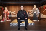 大河ドラマ館を訪れた本木雅弘(C)NHK