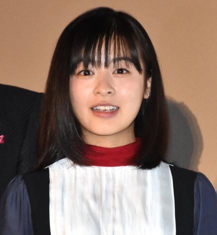 映画『ラストレター』の初日舞台あいさつに出席した森七菜 (C)ORICON NewS inc.