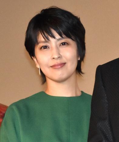 映画『ラストレター』の初日舞台あいさつに出席した松たか子 (C)ORICON NewS inc.