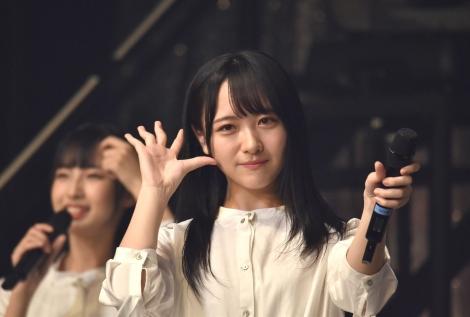 石田千穂=『STU48選抜コンサート〜東京には染まらないで帰ります。〜』 (C)ORICON NewS inc.