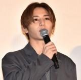 映画『記憶屋 あなたを忘れない』公開記念舞台あいさつに出席した山田涼介 (C)ORICON NewS inc.