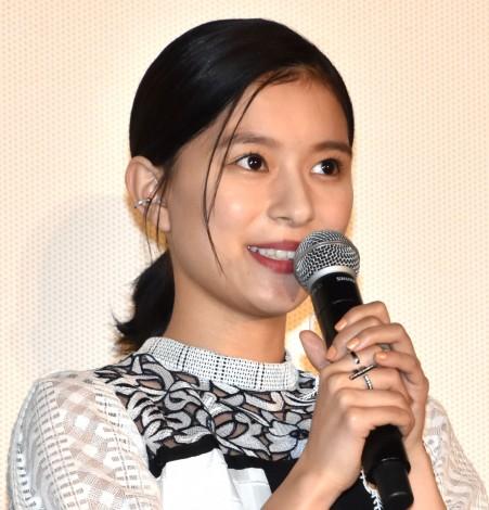 映画『記憶屋 あなたを忘れない』公開記念舞台あいさつに出席した芳根京子 (C)ORICON NewS inc.