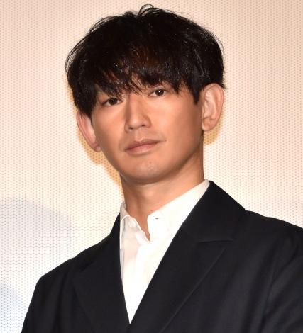 映画『太陽の家』公開記念舞台あいさつに登壇した永山瑛太 (C)ORICON NewS inc.