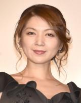 映画『太陽の家』公開記念舞台あいさつに登壇した飯島直子 (C)ORICON NewS inc.