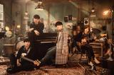 映画『コンフィデンスマンJP プリンセス編』の主題歌を担当するOfficial髭男dism(C)2020「コンフィデンスマンJP」製作委員会