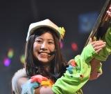 「バズーカ砲発射」荒井優希=『SKE48選抜メンバーコンサート〜私たちってソーユートコあるよね?』 (C)ORICON NewS inc.