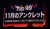 AKBグループTDCホールライブ祭り『AKB48 グループリクエストアワーセットリストベスト50 2020』の模様 (C)ORICON NewS inc.