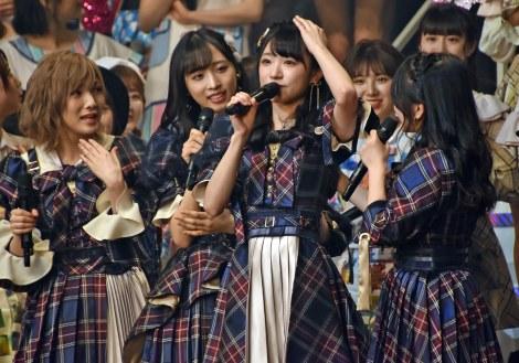 AKB48の57thシングルで初センターに抜てきされた山内瑞葵 (C)ORICON NewS inc.