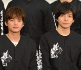 デビュー前日のSixTONES&Snow Manを激励した(左から)中山優馬、生田斗真 (C)ORICON NewS inc.