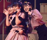 『AKB48 グループリクエストアワーセットリストベスト50』1位は「ロマンティック病」(左から)田島芽瑠、田中美久、松岡はな(C)ORICON NewS inc.