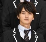 映画『シグナル100』完成披露会見と舞台あいさつに登壇した瀬戸利樹 (C)ORICON NewS inc.
