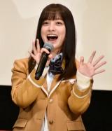 映画『シグナル100』完成披露会見と舞台あいさつに登壇した (C)ORICON NewS inc.