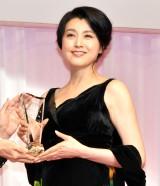 『第31回 日本ジュエリー ベストドレッサー賞』を受賞した藤原紀香 (C)ORICON NewS inc.