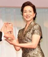 『第31回 日本ジュエリー ベストドレッサー賞』を受賞した原田美枝子 (C)ORICON NewS inc.