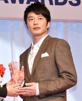 『第31回 日本ジュエリー ベストドレッサー賞』を受賞した田中圭 (C)ORICON NewS inc.
