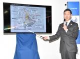 鉄道の運行について発表した齋藤勝久輸送局輸送企画部長 (C)ORICON NewS inc.