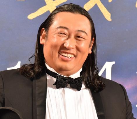 映画『キャッツ』のジャパンプレミアに出席した秋山竜次 (C)ORICON NewS inc.