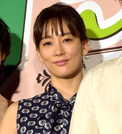 映画『グッドバイ〜嘘からはじまる人生喜劇〜』完成披露試写会に出席した水川あさみ