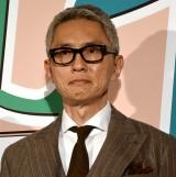 映画『グッドバイ〜嘘からはじまる人生喜劇〜』完成披露試写会に出席した松重豊