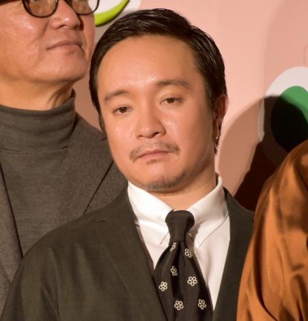 映画『グッドバイ〜嘘からはじまる人生喜劇〜』完成披露試写会に出席した濱田岳