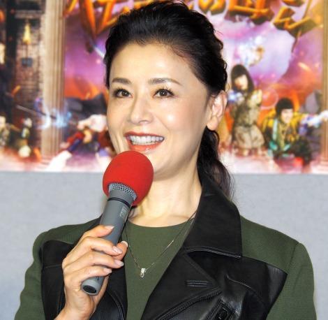 NHKよるドラ『伝説のお母さん』第1話試写会に出席した大地真央 (C)ORICON NewS inc.