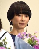映画『ロマンスドール』初日舞台あいさつに登壇したタナダユキ監督 (C)ORICON NewS inc.