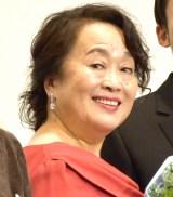 映画『ロマンスドール』初日舞台あいさつに登壇した渡辺えり (C)ORICON NewS inc.