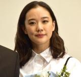 映画『ロマンスドール』初日舞台あいさつに登壇した蒼井優 (C)ORICON NewS inc.