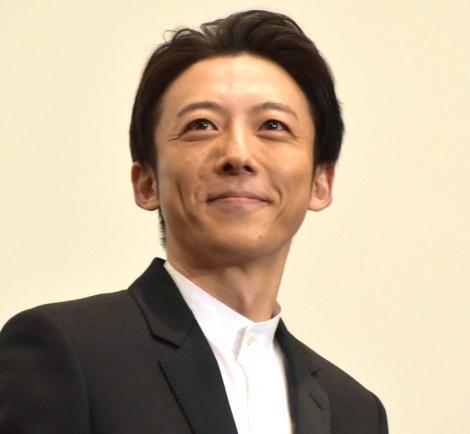 映画『ロマンスドール』初日舞台あいさつに登壇した高橋一生 (C)ORICON NewS inc.