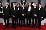 『グラミー賞』でパフォーマンス出演が決定したBTS(写真は昨年のレッドカーペット) Photo by Getty Images
