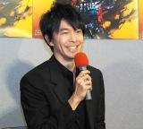 NHKで大河ドラマ『麒麟がくる』第1回「光秀、西へ」の試写会に出席した長谷川博己 (C)ORICON NewS inc.