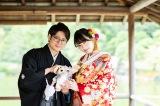 結婚を報告した倉持由香とふ〜ど氏(写真は倉持由香のSNSより)