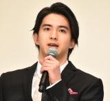 映画『シグナル100』の初日舞台あいさつに登壇した甲斐翔真 (C)ORICON NewS inc.