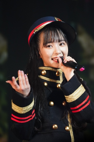 SKE48末永桜花が初のソロコンサートで鉄道コーナーを展開(C)AKS