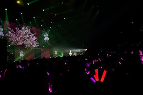 『SKE48 末永桜花ソロコンサート〜あなたが見ていてくれたから…〜』より(C)AKS