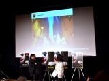 """相方・綾部祐二の""""ジョーカーショット""""に苦笑いを浮かべていた又吉直樹=映画『ジョーカー』Blu-ray&DVDリリース記念イベント"""