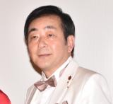 映画『星屑の町』完成披露舞台あいさつに出席した菅原大吉 (C)ORICON NewS inc.