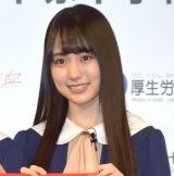 『令和2年「はたちの献血」キャンペーン』PRイベントに参加した賀喜遥香 (C)ORICON NewS inc.