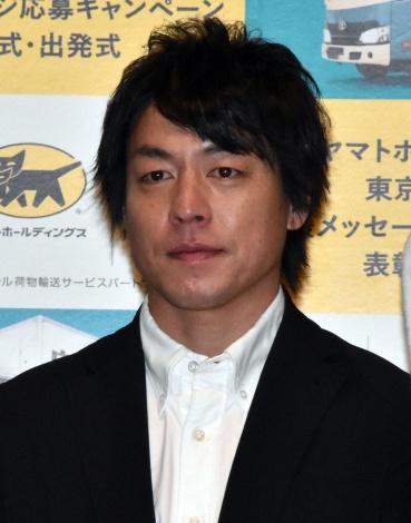 『東京2020大会 応援メッセージ募集キャンペーン』表彰式に出席した宮崎大輔選手