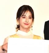 映画『his』公開記念舞台あいさつに登壇した松本若菜 (C)ORICON NewS inc.