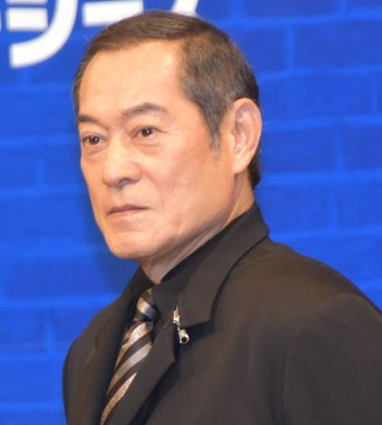 ブロードウェイミュージカル『ニュージーズ』の製作発表会見に参加した松平健 (C)ORICON NewS inc.