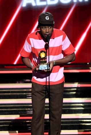 『第62回グラミー賞』で「最優秀ラップ・アルバム」を受賞したタイラー・ザ・クリエイター(C)GettyImages